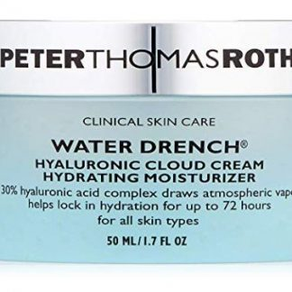 ($52 Value) Peter Thomas Roth Water Drench Hyaluronic Cloud Cream Hydrating Face Moisturizer, 1.7 fl oz