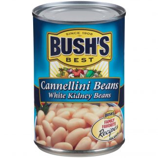 BUSH'S Cannellini Beans, 15.5 oz Canned White Kidney Beans