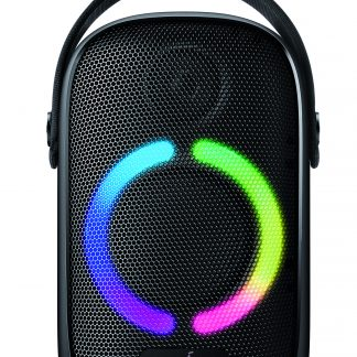 Anker Soundcore Rave Neo Portable Bluetooth Party Speaker with Lights, BassUp Technology, Sync 100+ Speakers, 18H Playtime, Waterproof, Custom EQ, App