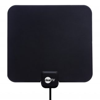 Clear TV Indoor Amplifying & Broadcasting Antenna (Stand Not Included), As Seen on TV