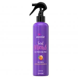 Aussie Total Miracle Heat Protecting Spray, Sulfate Free, 8.5 fl oz