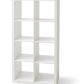 Better Homes & Gardens 8-Cube Storage Organizer, With 8 Openings For Storage In Multiple Finishes