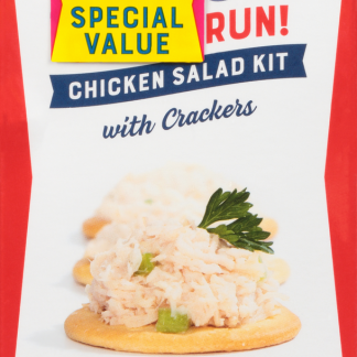 Bumble Bee Snack on the Run! Chicken Salad Kit with Crackers 3.5 oz 3 Kits