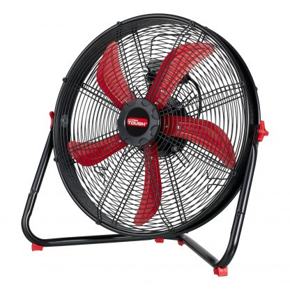 Hyper Tough Sealed Motor Drum Fan with Wall Mount, 20-Inches