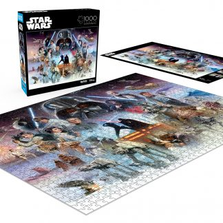 Buffalo Games Star Wars Item 11816- The force is with You, Young Skywalker - 1000 Piece Jigsaw Puzzle