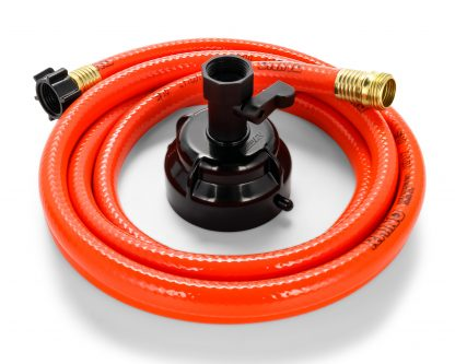 """Camco 22990 RhinoFLEX 25ft Clean Out Hose - Ideal For Flushing Black Water, Grey Water or Tote Tanks 5/8"""" Internal Diameter"""