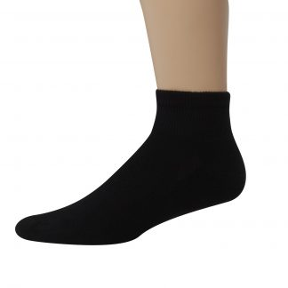 Hanes Men's Big & Tall X-Temp Active Cool Ankle Socks, 12 Pack