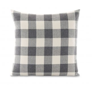 """Better Homes & Gardens Feather Filled Buffalo Plaid Decorative Throw Pillow, 18"""" x 18"""", Red"""