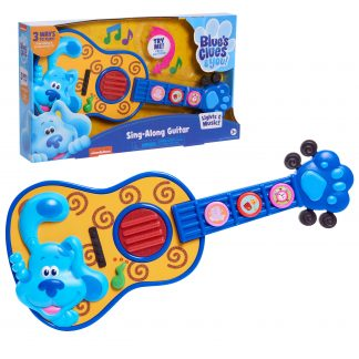 Blue's Clues & You! Sing Along Guitar, Lights and Sounds Kids Guitar Toy