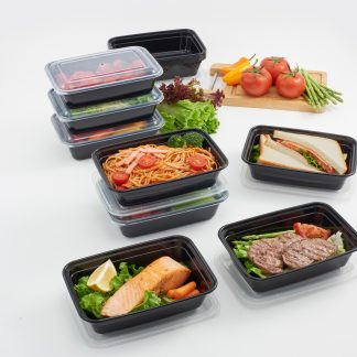 Mainstays Meal Prep Storage Containers, 15 pack