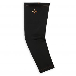 Tommie Copper Sport Compression Arm Sleeve, Black, Large/Extra-Large