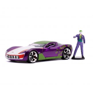 DC Comics '09 Stingray With Joker 1:24 Scale Hollywood Rides Diecast Car Play Vehicle