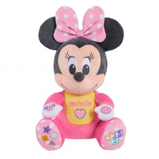 Disney Baby Musical Discovery Plush Minnie Mouse, Plush Simple Feature, Ages 06 Month, by Just Play
