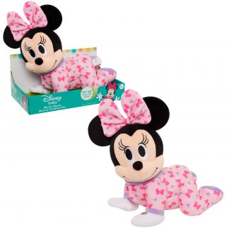 Disney Baby Musical Crawling Pals Plush, Minnie, Plush Animated, Ages 09 Month And Up