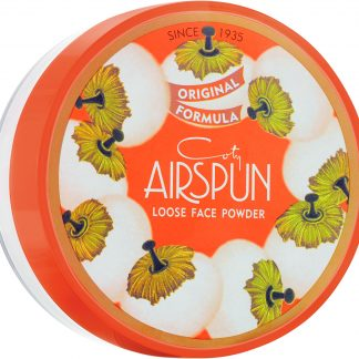Airspun Coty Loose Face Powder, 041 Translucent Extra Coverage, 2.3 oz