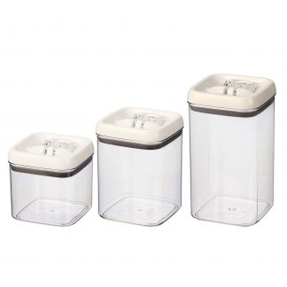 Better Homes & Gardens 3 pack Flip-Tite Square Food Storage Container Set