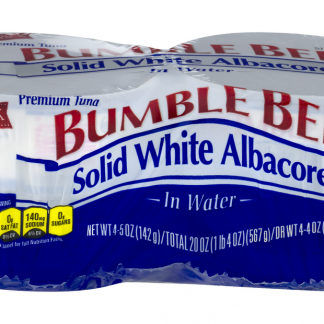 Bumble Bee Solid White Albacore Tuna In Water 5oz 4 pack
