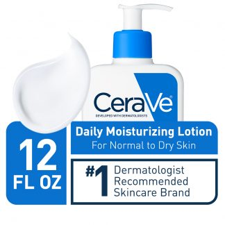 CeraVe Daily Moisturizing Lotion for Normal to Dry Skin, 12 fl oz