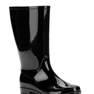 Time and Tru Women's Rain Boot, Wide Width Available
