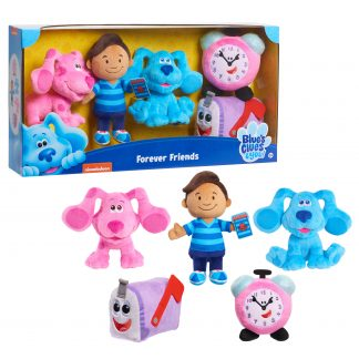 Blue's Clues & You! Forever Friends Plush, 5-pieces, Plush Basic, Ages 3 Up, by Just Play