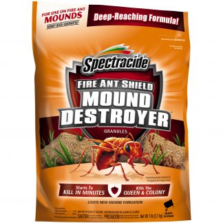 Spectracide Fire and Ant Shield Mound Destroyer Granules, Kills Ants, 7lbs