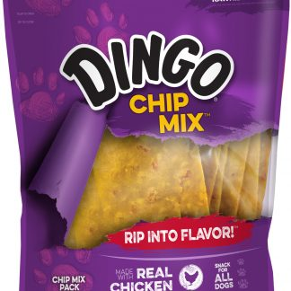 Dingo Chip Mix Rawhide Chews With Chicken for Dogs, 16 oz