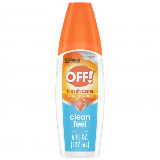 OFF! FamilyCare Insect Repellent II, Clean Feel, 6 oz, 1 ct