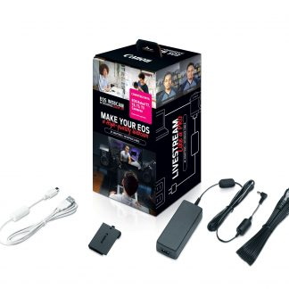 Canon EOS Webcam Accessories Starter Kit for EOS Rebel T7, T6, T5, T3
