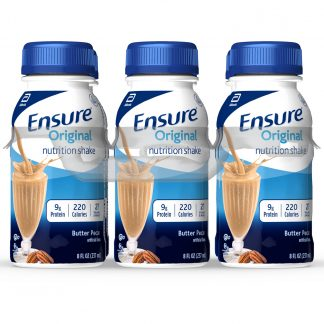 Ensure Plus Nutrition Shake, With 16 Grams of High-Quality Protein, Meal Replacement Shake, Vanilla, 8 fl oz, 16 Count