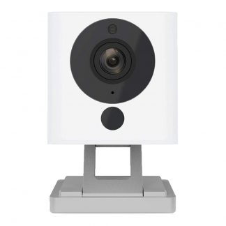 Wyze Cam 1080p HD Indoor Smart Home Security Camera with Night Vision, 2-Way Audio, Works with Alexa & the Google Assistant, One Pack, White
