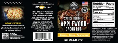 Pit Boss Applewood Bacon Barbecue Rubs and Seasonings - 5 oz