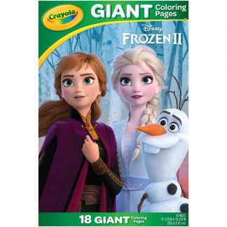 Crayola Giant Coloring Featuring Frozen 2, Child, 18 Pages