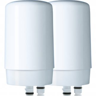 Brita Tap Water Faucet Filter Replacement, 2 Count - White