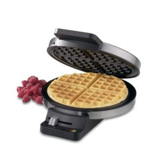 Cuisinart Round Classic Brushed Stainless Waffle Maker