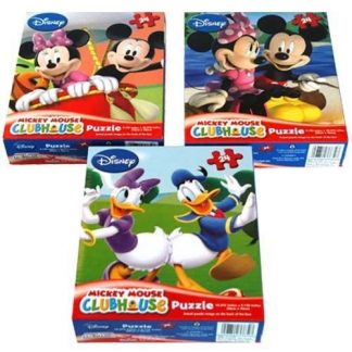 Cardinal Disney Mickey Mouse Clubhouse Puzzle Assortment, 24 Piece