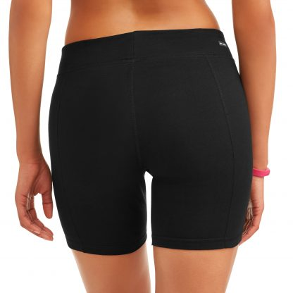 Athletic Works Womens Core Active Dri-Works Bike Short, 2-Pack