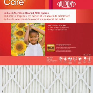 20x30x1 Dupont High Allergen Care MERV 11 Air Filters (2 Pack)