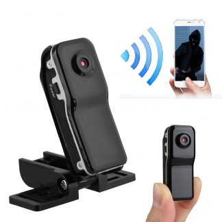 Mini Camera Video Recorder, Portable Body Camera with Motion Detect, Loop Recording Security DVR Camera Perfect for Home and Office