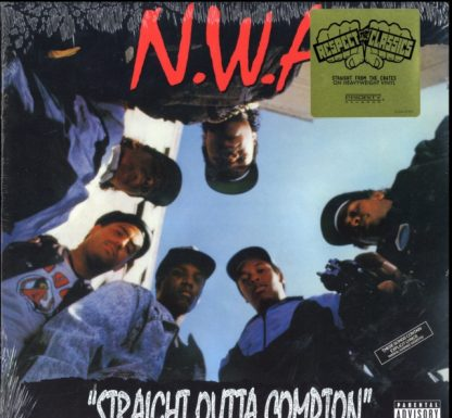 N.W.A - Straight Outta Compton - Vinyl (Remaster) (explicit)