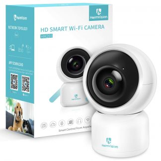 HeimVision HM203 1080P Indoor Security Camera Smart Home Surveillance IP Camera with Motion Detection/Alerts, 2-Way Audio, Night Vision for Baby/Elder/Pet/Nanny Monitor