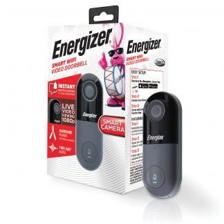 Energizer Connect EOD1-1002-SIL 1080P HD Smart Video Doorbell