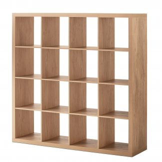 Better Homes & Gardens 16-Cube Square Storage Organizer, Multiple Finishes
