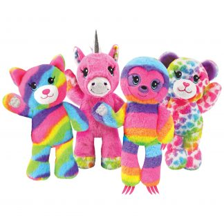 Build-A-Bear Workshop© Heart Surprise Reversible 9-Inch Plush, Plush Basic Blind, Ages 3 Up, by Just Play